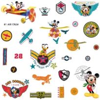 RoomMates - Disney Mickeys Clubhouse Pilot Stickers Muraux