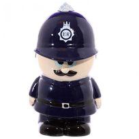 Snak - Tirelire céramique Policier anglais