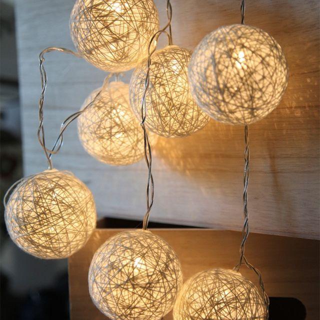 WHITE STAR - Guirlande LED JOLLY LIGHT Blanche