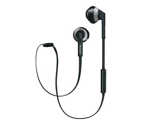 Philips Ecouteurs Bluetooth Noirs Shb5250bk00 Pas Cher Achat