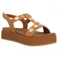 Inuovo - 7282 cuir Femme-41-Coconut