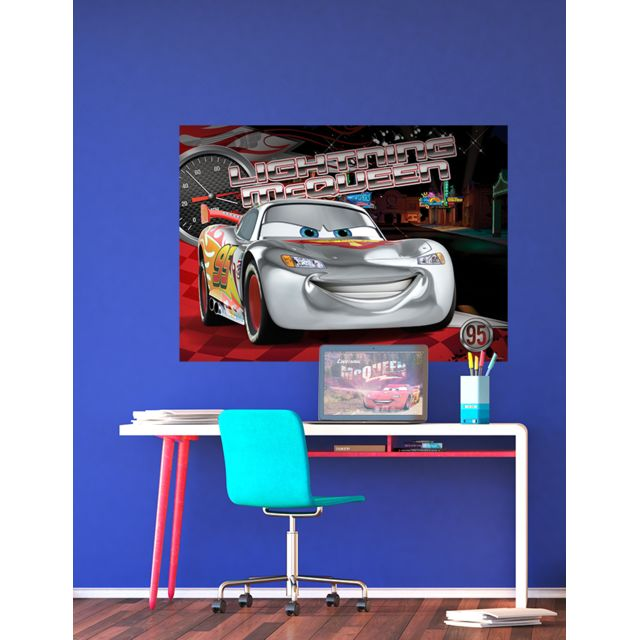 bebe gavroche poster xxl ligtning mcqueen cars disney. Black Bedroom Furniture Sets. Home Design Ideas
