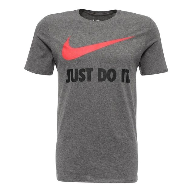 35090120bcfdf Nike - Tee Shirt Jdi Swoosh Gris - M - pas cher Achat   Vente Tee shirt  homme - RueDuCommerce