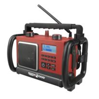 Perfect Pro - Radio de chantier 7,5 Watts FM, Mp3, Lcd, Robuste Rockdog
