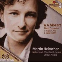 Pentatone - Wolfgang Amadeus Mozart - Concertos pour piano no. 13 et24