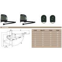 Somfy - Automatisme Pack standard Axovia 220A REMPLACE Par 1216294