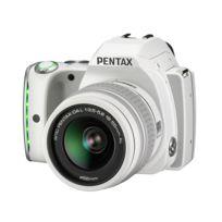 Pentax - Reflex Numérique K - S1 - Blanc + Objectif 18 - 55 mm