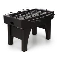 KLARFIT - Anfield Table de babyfoot 118 x 68cm avec roulement à billes - MDF noir