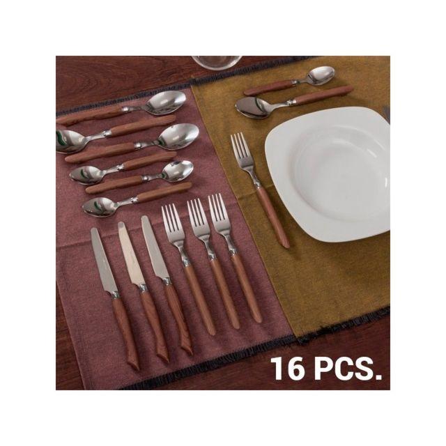 Bravissima Kitchen Couvert pour 4 personnes 16 pièces