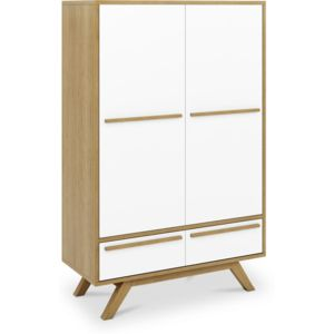 armoire de style scandinave bestn bois blanc with penderie scandinave. Black Bedroom Furniture Sets. Home Design Ideas