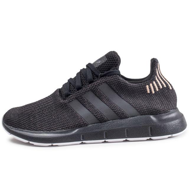 Adidas originals Swift Run Noire Femme pas cher Achat