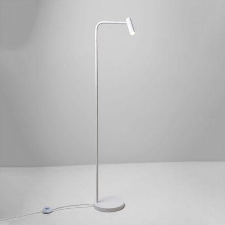 astro liseuse sur pied enna led h119 cm blanc pas. Black Bedroom Furniture Sets. Home Design Ideas