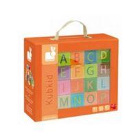 Juratoys-janod - KubKid 32 cubes alphabet