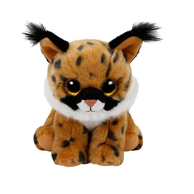 Speckles Beanie Boo - Peluche Beanie Boo  s small   Larry le lynx ... 300d35e3d88