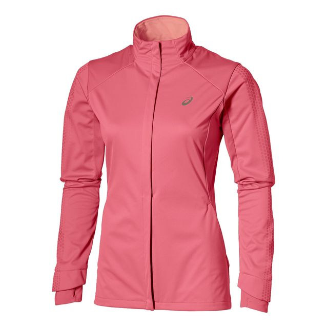 Asics Lite Show Winter Jacket Rose Veste running pas