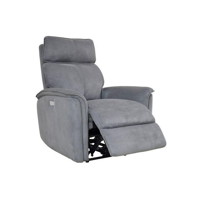 momentime fauteuil relax en microfibre avec accoudoirs. Black Bedroom Furniture Sets. Home Design Ideas