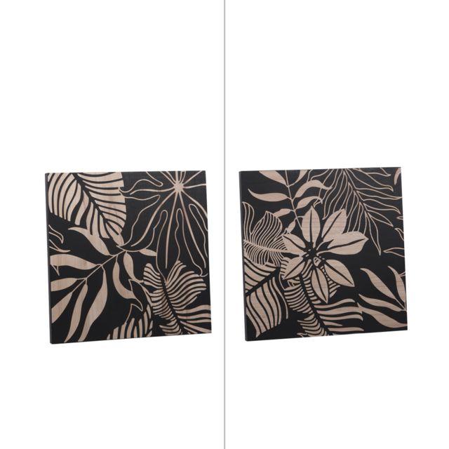 TABLE PASSION Cadre en bois 60 x 60 cm
