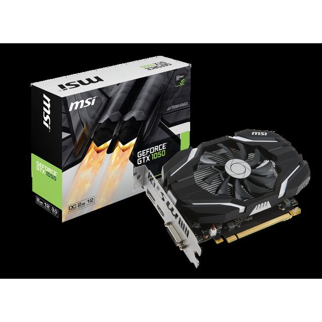 MSI - GeForce GTX 1050 2Go DDR5 OC