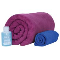 Sea to Summit - Tek Towel - Serviette de bain - M violet/bleu