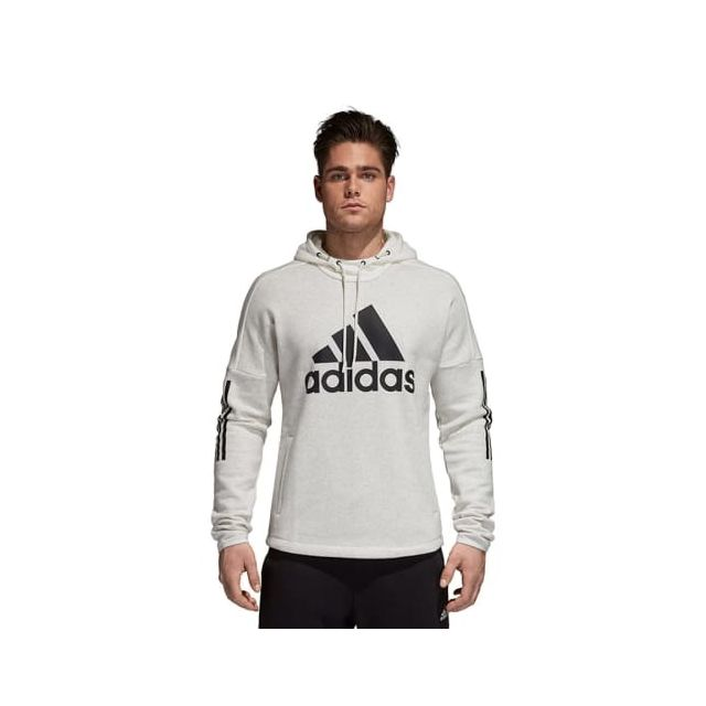 Adidas Sweat shirt à capuche Sport Id Logo Hooded blanc