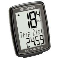 Sigma Sport - Bc 7.16 Ats - Compteur sans fil - sans fil noir