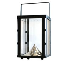 Watt & Home - Photophore Solaire - Lanterne Solaire Led d'extérieur H37cm - Luminaire d'extérieur designé par