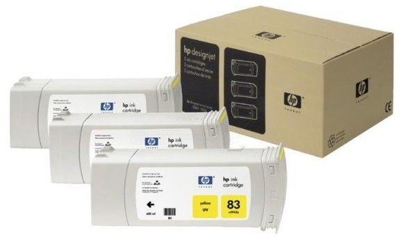 Hp Ink Cartridge No 83 3PK