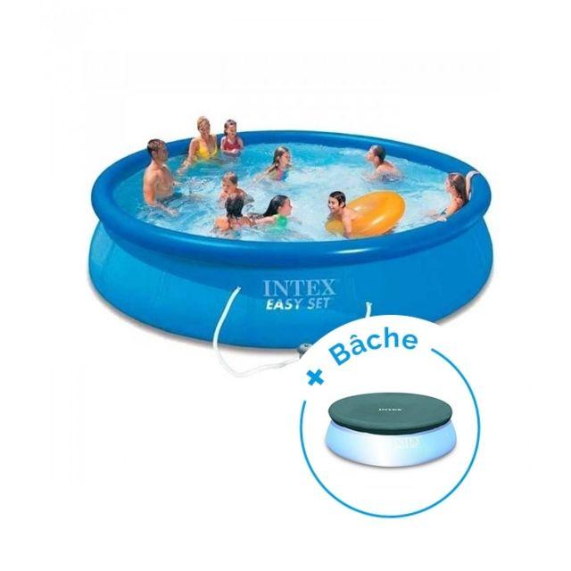 intex pack piscine autoportante easy set 4 57 x 0 84 m b che pas cher achat vente. Black Bedroom Furniture Sets. Home Design Ideas