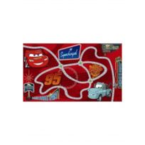 CARS - Tapis CIRCUIT Tapis Enfants par rouge 100 x 170 cm