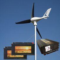 SELLANDE - Kit éolien autonome 24V Eolienne domestique GT-700 400W
