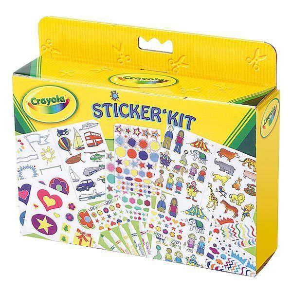 Crayola - Kit coloriage et autocollant