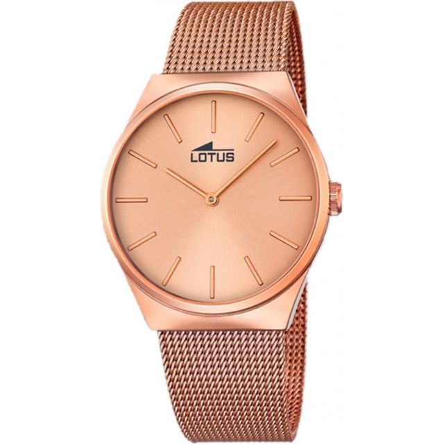 montre or rose pas cher