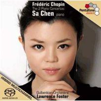 Pentatone - Frédéric Chopin - Les deux concertos pour piano