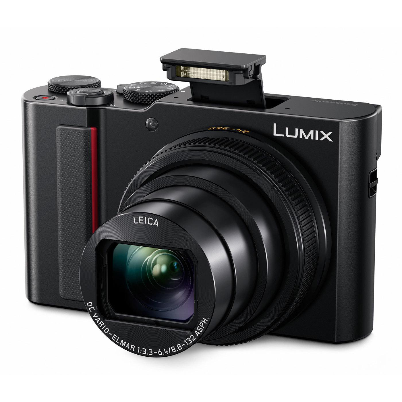 Appareil photo numérique Compact Expert Lumix TZ200 Canon Noir