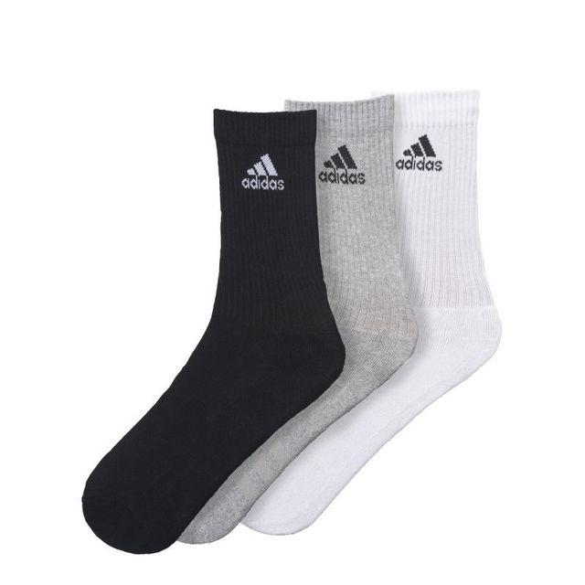 b7408bf242ecf Adidas - Lot de 3 paires de chaussettes assorties - pas cher Achat ...