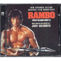 Silva Screen - Jerry Goldsmith - Rambo : First blood part 2 Boitier cristal