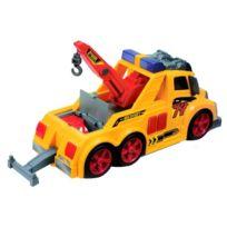 Dickie Toys - Chariot De Remorquage De LumiÈRES Et De Sons - DÉMO Piles Incluses - Dickie Toy