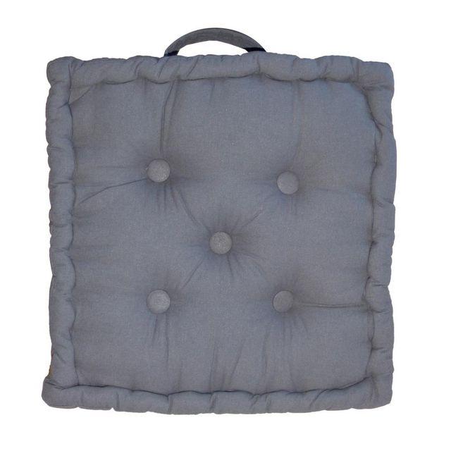 COTTON WOOD Coussin de sol en coton 40 cm