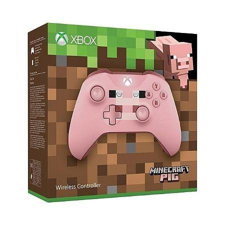 Manette Xbox Edition Minecraft Pig