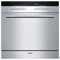 lave-vaisselle compact 8 couverts a+ encastrable inox - sc76m541eu