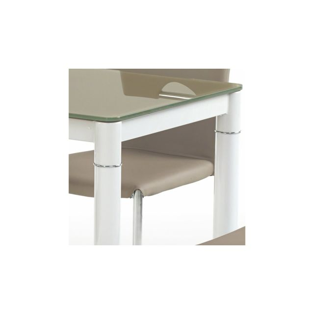 Justyou - Argus Table salle a manger Beige 100x60x75 - pas cher ...