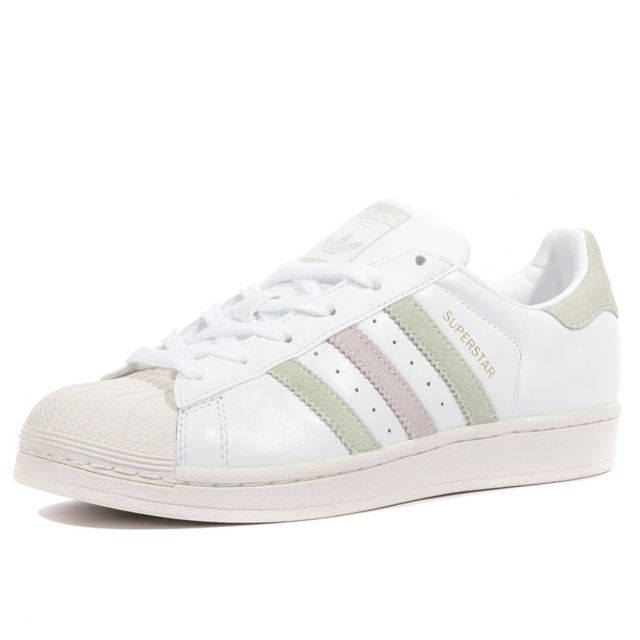 Adidas - Superstar Femme Chaussures Blanc Multicouleur 40 2 ...