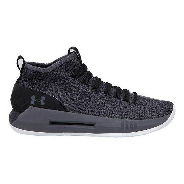 66e33af56302b8 Under Armour - Chaussure de Basketball Under Armour Heat Seeker Noir pour  homme Pointure - 41
