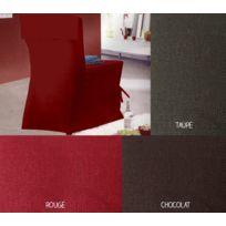 Bonareva - Housse de chaise - 45 x 50 cm - Panama - Différents coloris taupe