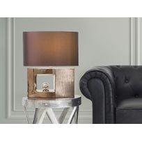 Beliani - Lampe à poser - lampe de salon, de chevet, de bureau - marron - Duero