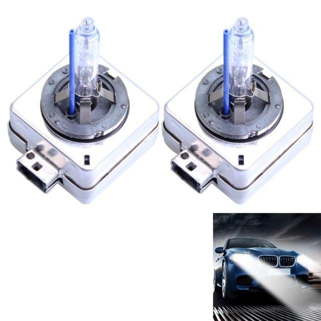 wewoo phare x non voiture 2 pcs d1s 35w 3800 lm 6000k ampoules hid lampes au x non dc 12v. Black Bedroom Furniture Sets. Home Design Ideas