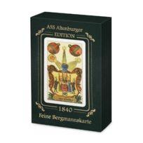 Ass Altenburger Spielkarten - Ass Altenburger 22206185-FINES Bergmannskarte, Jeu