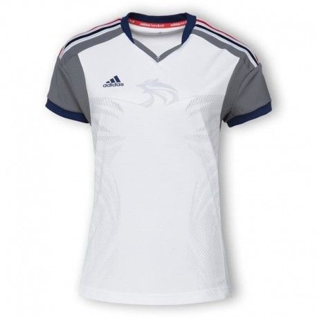 198fe8371702f Adidas originals - Hb Fk Jersey W Blc - Maillot Handball Ffhb Femme Adidas