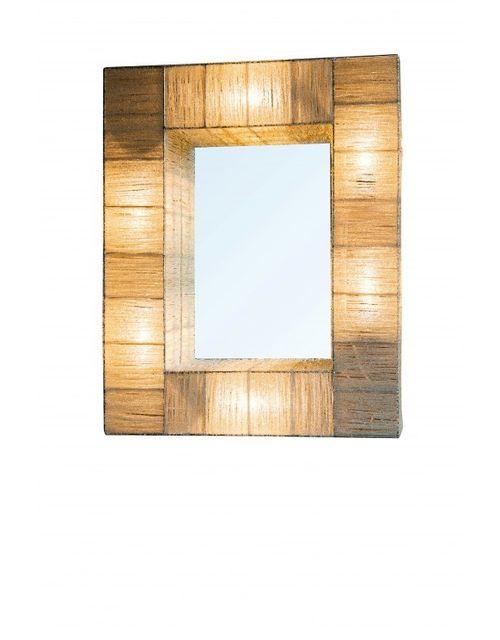 Decoshop Miroir lumineux rectangulaire 75x60 cm