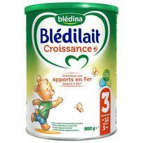 Bledilait - Lait en poudre - Croissance - 900g